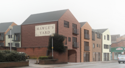 New Apartments, George Street and Pepper Alley, Banbury