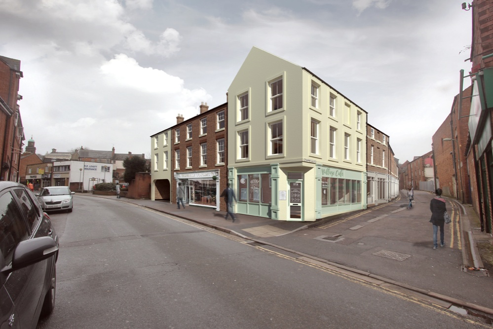 Commercial Units, George Street and Pepper Alley, Banbury